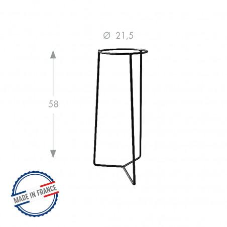 Tripode extérieur diamètre 21,5cm Louis Moulin
