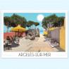 Affiche Argelès-sur-mer bord de plage 2 - Foliove
