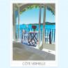 Affiche de la Côte Vermeille - Foliove