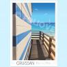 Affiche des cabanes de Gruissan - Foliove